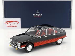 Citroen GS Basalte Baujahr 1978 schwarz / rot 1:18 Norev