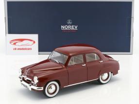 Simca 9 Aronde année de construction 1953 amarante rouge 1:18 Norev
