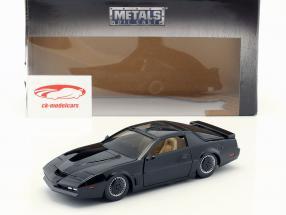 Pontiac Firebird K.I.T.T. series de televisión Knight Rider (1982-1986) negro 1:24 Jada Toys