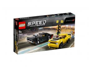 LEGO® Speed Champions 2018 Dodge Challenger SRT Demon and 1970 Dodge Challenger R/T