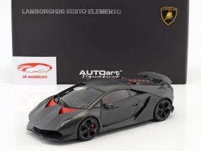 Lamborghini Sesto Elemento Baujahr 2010 carbongrau 1:18 AUTOart
