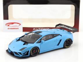 Lamborghini Gallardo GT3 FL2 jaar 2013 blauw 1:18 AUTOart