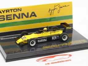 A. Senna Van Diemen RF82 #30 Europa formel Ford 2000 mester 1982 1:43 Minichamps
