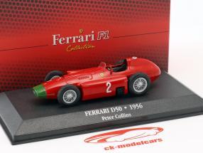 Peter Collins Ferrari D50 #2 formel 1 1956 1:43 Atlas