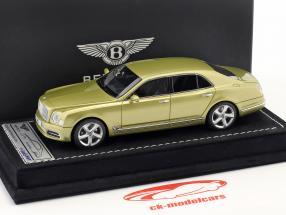 Bentley Mulsanne Speed Ginebra Salón del automóvil 2016 julepe oro 1:43 LookSmart