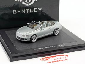 Bentley Continenal GTC Next Generation metálica de color verde claro 1:43 Minichamps