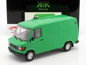 Mercedes-Benz 208 D furgoneta año de construcción 1988 verde 1:18 KK-Scale