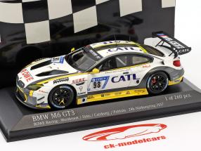 BMW M6 GT3 #98 2nd 24h Nürburgring 2017 Palttala, Catsburg, Sims, Westbrook 1:43 Minichamps