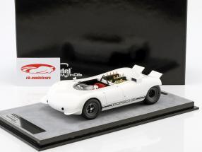 Porsche 909 Bergspyder Presse Version Hockenheim 1968 weiß 1:18 Tecnomodel
