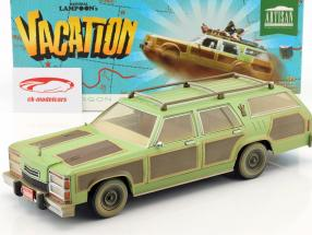 Wagon Queen Family Truckster 1979 film National Lampoon's Vacation 1983 grøn / brun 1:18 Greenlight