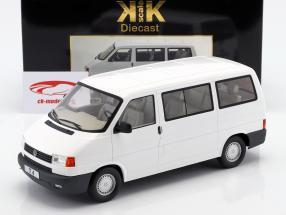 Volkswagen VW T4 Bus Caravelle Baujahr 1992 weiß 1:18 KK-Scale