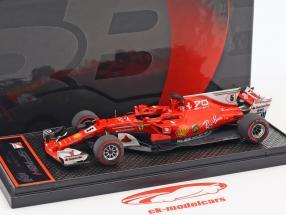 Sebastian Vettel Ferrari SF70H #5 3th Italian GP formula 1 2017 1:43 BBR