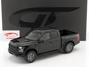Ford Raptor F150 year 2017 black 1:18 GT-Spirit