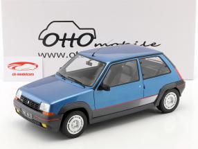 Renault Super 5 GT Turbo MK1 Opførselsår 1986 lyseblå 1:12 OttOmobile