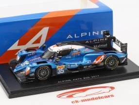 Alpine A470 #35 4ª 24h LeMans 2017 Panciatici, Ragues, Negrao 1:43 Spark