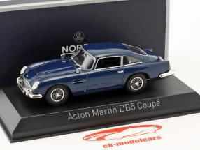 Aston Martin DB5 coupe anno di costruzione 1964 notte blu 1:43 Norev