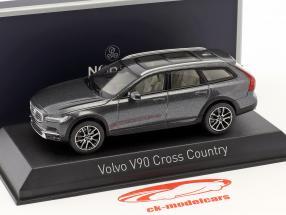 Volvo V90 Cross Country año de construcción 2017 savile gris 1:43 Norev