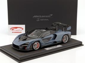 McLaren Senna Salon de Geneve 2018 victory grey 1:18 BBR