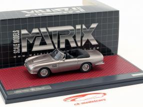 Aston Martin DB6 Volante Open year 1968 gray metallic 1:43 matrix