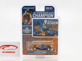 Scott Dixon Honda #9 kampioen Indycar Series 2018 1:64 Greenlight