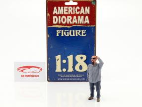 Hanging Out 2 Frank figure 1:18 American Diorama