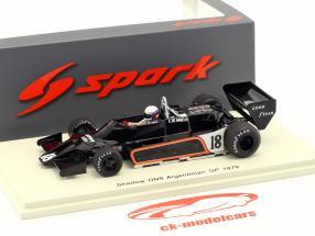 Elio de Angelis Shadow DN9 #18 Argentina GP formel 1 1979 1:43 Spark