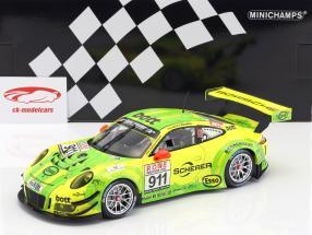 Porsche 911 (991) GT3 R #911 vencedor DMV 4h raça VLN 2017 Manthey Grello 1:18 Minichamps
