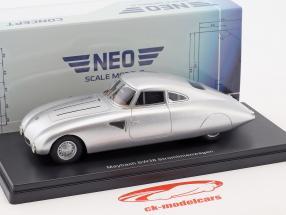 Maybach SW38 Streamlined car year 1939 silver 1:43 Neo
