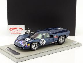 Lola T70 MK3 #8 segundo 24h Daytona 1969 Leslie, Motschenbacher 1:18 Tecnomodel