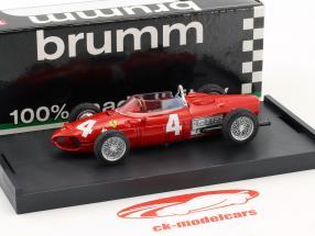 Wolfgang von Trips Ferrari 156 F1 #4 Italië GP formule 1 1961 1:43 Brumm