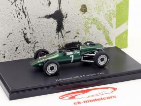 Kaimann Mk4 formula Vau #7 Niki Lauda anno di costruzione 1969 verde 1:43 AutoCult