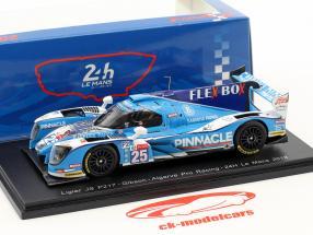 Ligier JS P217 #25 24h LeMans 2018 Patterson, de Jong, Kim 1:43 Spark