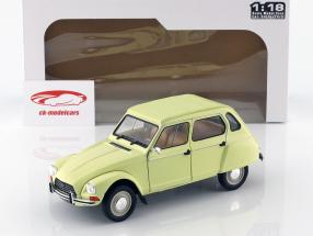 Citroen Dyane 6 year 1967 yellow 1:18 Solido