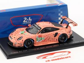 Porsche 911 (991) RSR #92 classe vincitore LMGTE-Pro 24h LeMans 2018 1:43 Spark