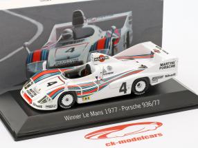 Porsche 936/77 #4 Vinder 24h LeMans 1977 Martini Racing 1:43 Spark