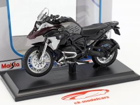BMW R 1200 GS Opførselsår 2017 sort / grå 1:18 Maisto