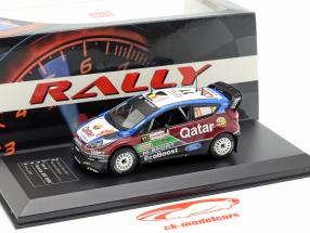 Ford Fiesta RS WRC #11 2 ° Rallye Italia Sardegna 2013 Neuville, Gilsoul 1:43 Direkt Collections