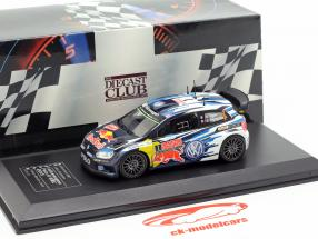 Volkswagen VW Polo R WRC #1 gagnant Rallye Monte Carlo 2015 Ogier, Ingrassia 1:43 Direkt Collections