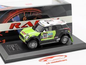 Mini All4 Racing #302 vencedor Rallye Dakar 2013 Peterhansel, Cottret 1:43 Direkt Collections