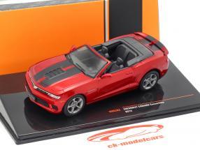 Chevrolet Camaro Convertible Opførselsår 2014 lilla metallisk 1:43 Ixo