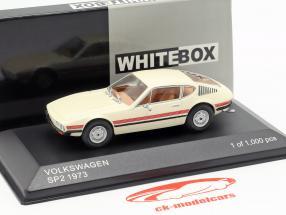 Volkswagen VW SP2 anno di costruzione 1973 crema / rosso 1:43 WhiteBox