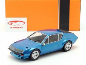 Alpine Renault A310 Opførselsår 1974 blå metallisk 1:18 Ixo