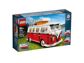 LEGO® Creator VW Volkswagen T1 Camper Van Bulli rød / hvid  2. valg
