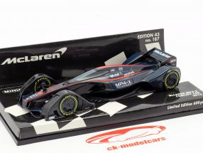 McLaren MP4-X Concept Car 2015 fórmula 1 1:43 Minichamps