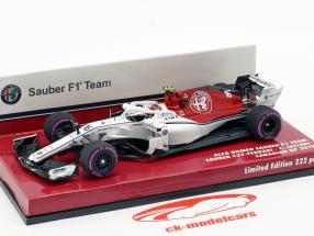 Charles Leclerc Sauber C37 #16 Kanada GP Formel 1 2018 1:43 Minichamps