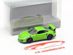 Porsche 911 GT3 RS année de construction 2015 vert 1:87 Minichamps