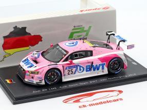 Audi R8 LMS #25 24h Nürburgring 2018 Audi Sport Team BWT 1:43 Spark