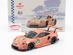 Porsche 911 (991) RSR #92 classe vencedor LMGTE-Pro 24h LeMans 2018 1:18 Spark