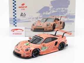 Porsche 911 (991) RSR #92 klasse winnaar LMGTE-Pro 24h LeMans 2018 1:18 Spark