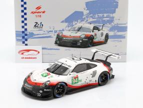 Porsche 911 (991) RSR GTE #94 24h LeMans 2018 Dumas, Bernhard, Müller 1:18 Spark